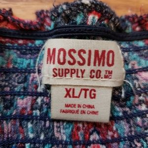 Mossimo Supply Co. Tops - Off the shoulder blue top
